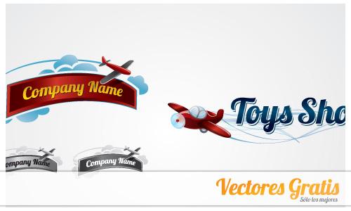 logos de aviones en vector gratis