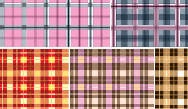patron textil en vector gratis