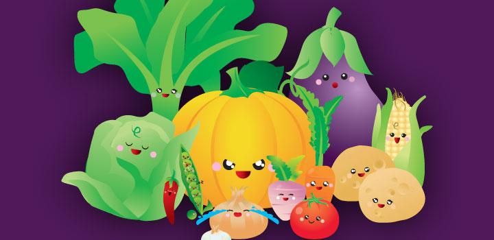 Verduras | Vectores Gratis
