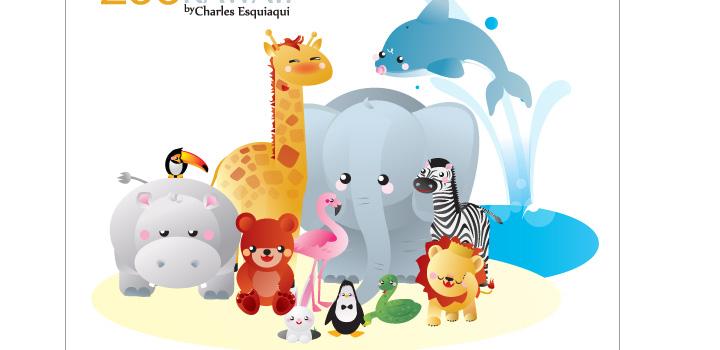 Imagenes de animales del zoologico de caricatura - Imagui