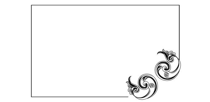 Bordes o marcos para invitaciónes de boda - Imagui