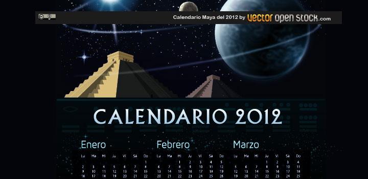 Calendario maya vectores gratis