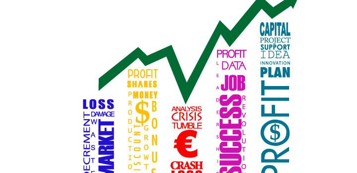 Grafica negocios vectores gratis