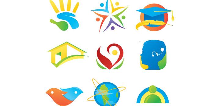 Iconos logos vectores gratis