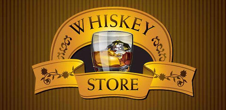 Logo whisky vectores gratis