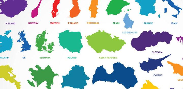 Mapas vectores gratis