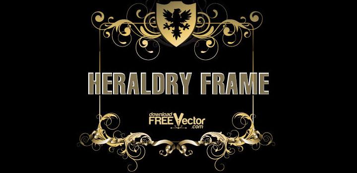 Marco heraldico vectores gratis