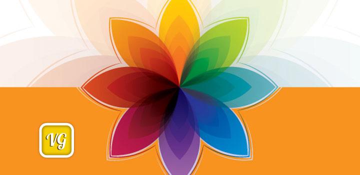Flores colores vectores gratis