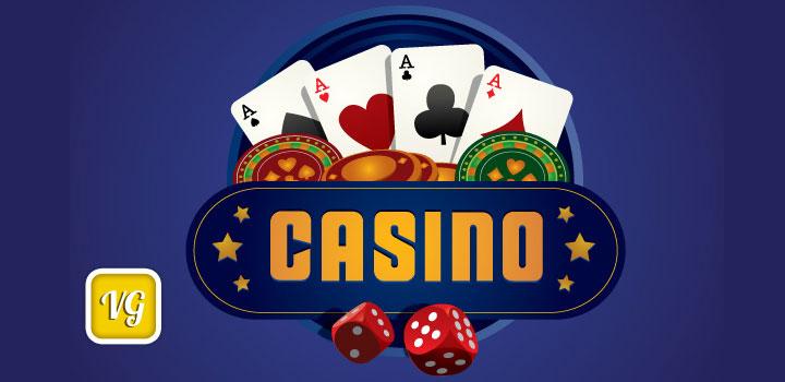 Logo casino vectores gratis