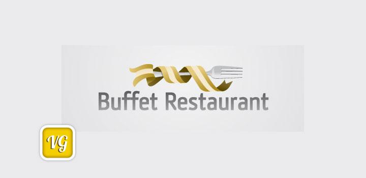 Logo restaurante vectores gratis