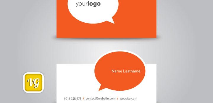 Tarjeta presentacion vectores gratis
