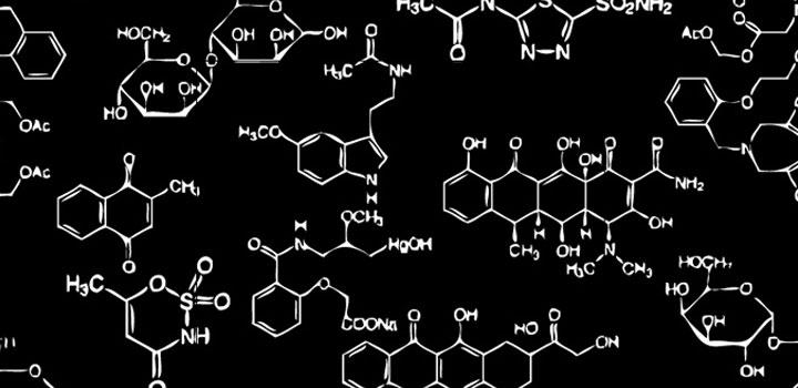 Fondo quimico vectores gratis