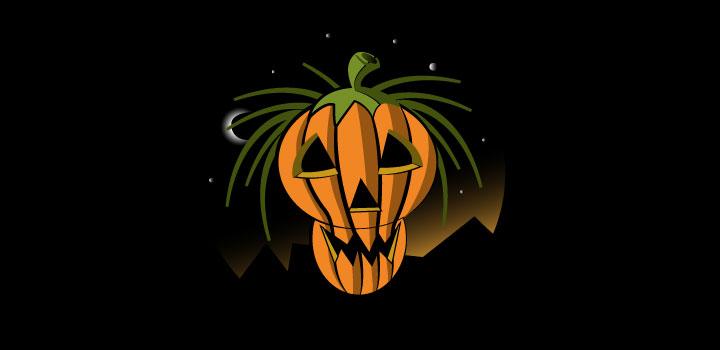 Calabaza halloween vectores gratis