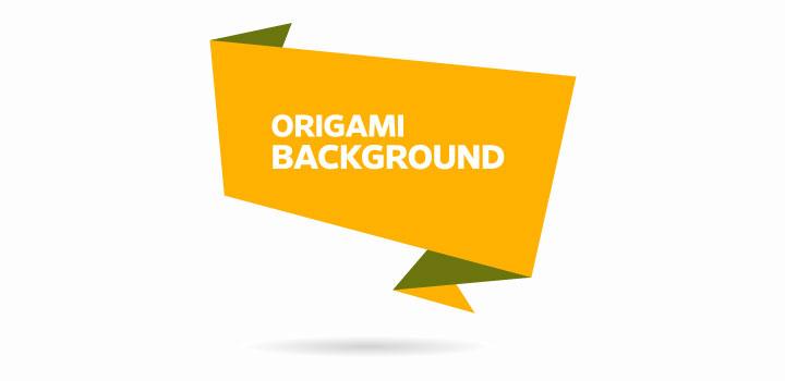 Origami vectores gratis