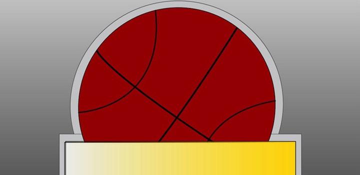 Trofeo basket vectores gratis