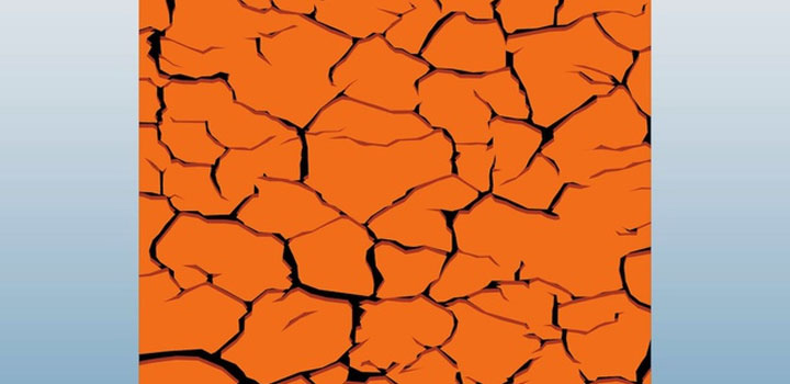 Tierra erosionada vectores gratis