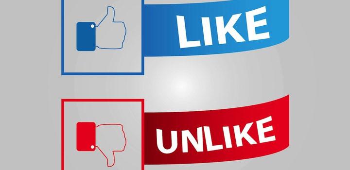 Botones facebook vectores gratis