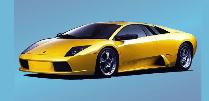 Lamborghini vectores gratis
