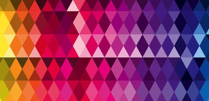 Textura triangulos vectores gratis