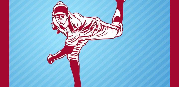 Baseball jugador vectores gratis