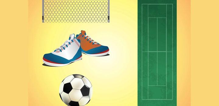 Iconos soccer vectores gratis