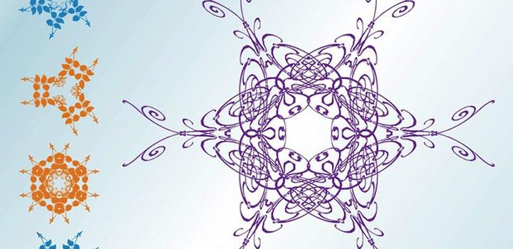 Iconos flores vectores gratis