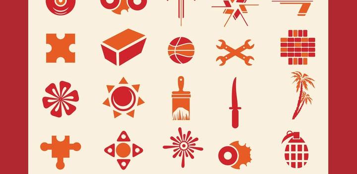 Iconos varios vectores gratis
