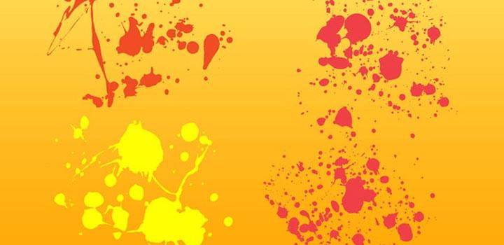 Machas pintura vectores gratis