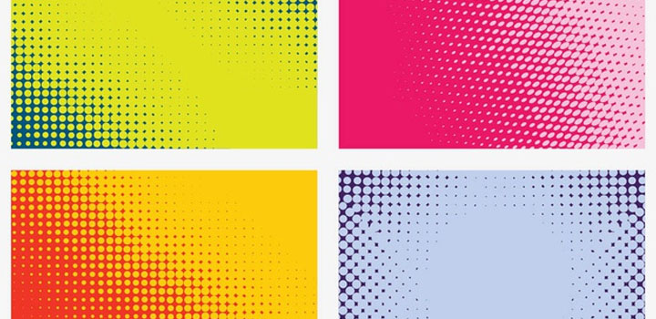 Tramas colores vectores gratis