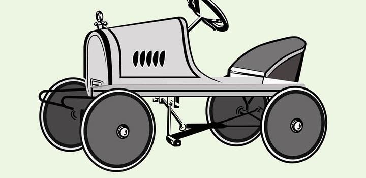 Auto antiguo vectores gratis