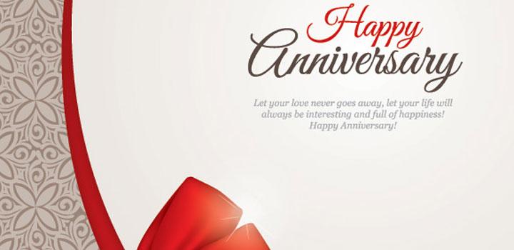 Feliz aniversario vectores gratis