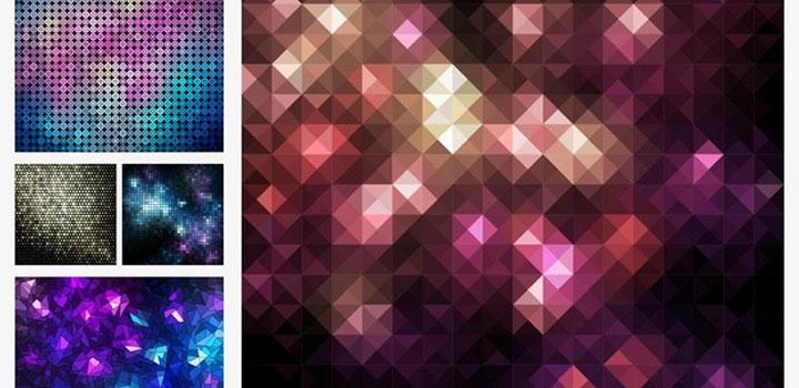Patron mosaicos vectores gratis