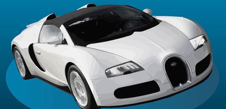 Bugatti veyron vectores gratis