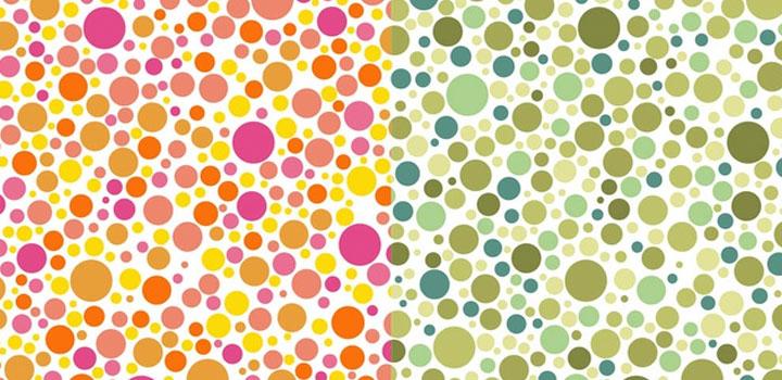 Puntos colores vectores gratis