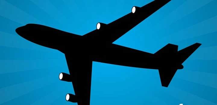 Avion vectores gratis