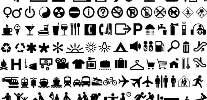 Iconos viajes vectores gratis