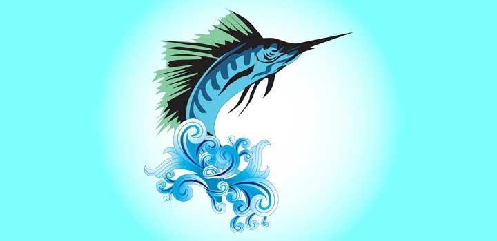 Marlin vectores gratis