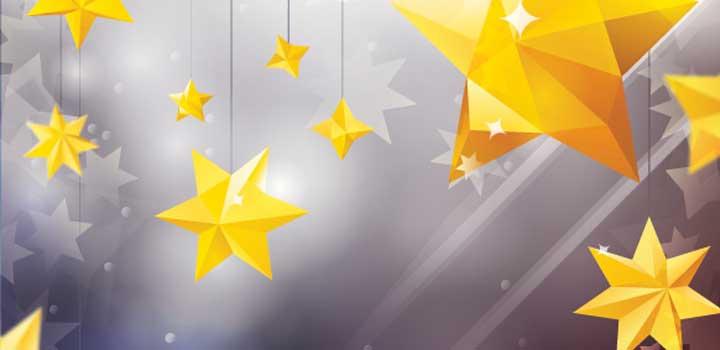 Ornamentos estrellas vectores gratis