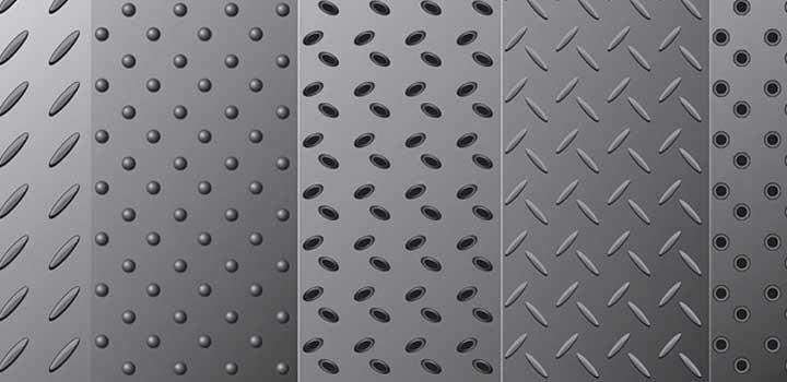 Textura metalica vectores gratis