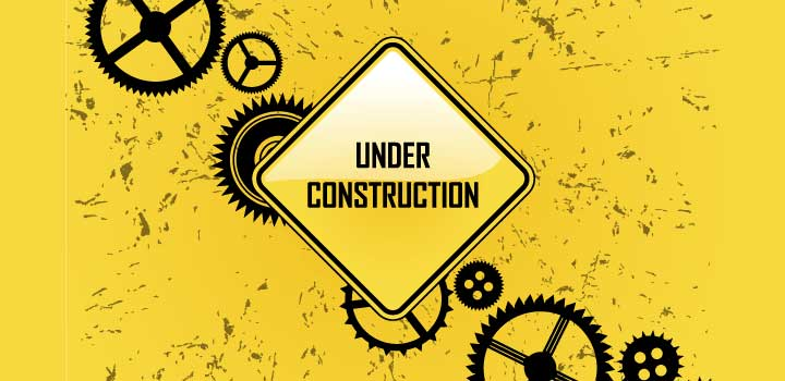Under construction vectores gratis